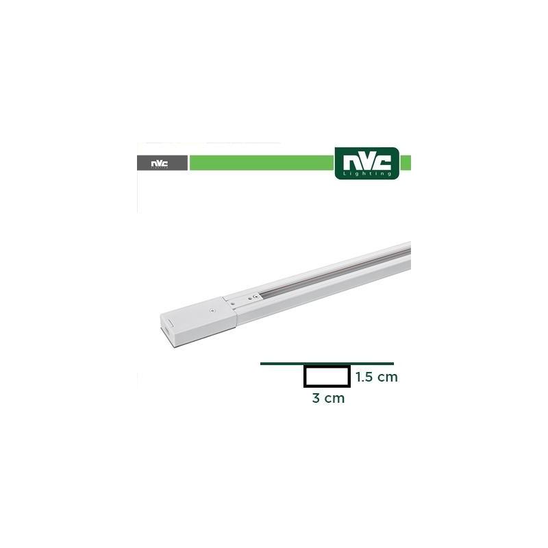 Binario Monofase - Lunghezza 1,5 Metro / Colore Bianco