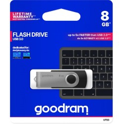 Pendrive GoodRAM 8GB UTS3 BLACK USB 3.0 - retail blister