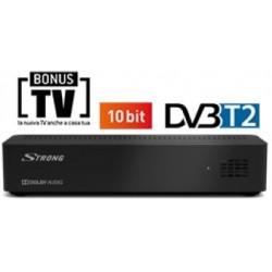 Decoder Ricevitore Terrestre FullHD DVB-T2 10 Bit EPG USB