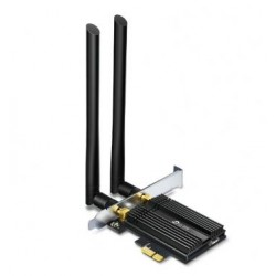 Scheda di Rete Wi-Fi 6 AX3000 e Bluetooth 5.0 con adattatore