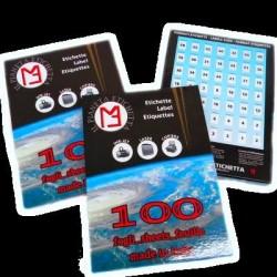 Etichette adesive 70x35 - 24 etichette/foglio - 100 fogli