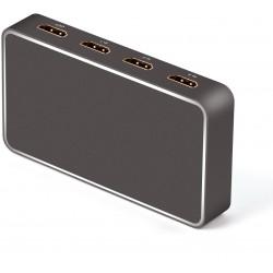 Switch 3x1 HDMI 2.0 4k@60hz,18G con usb recharge