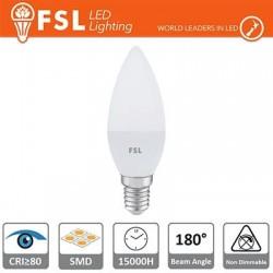 Lampada Oliva - 5,5W 6500K E14 480LM
