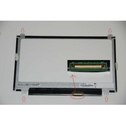 Display B116XTN04.0 Top/Bottom led 11.6 - 40 pin