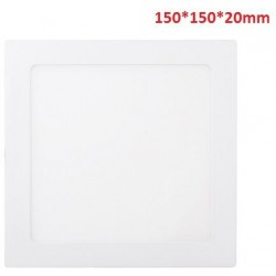 9W-580LM-4000K120º-150*150*20mm/130*130mm-AC90-265V