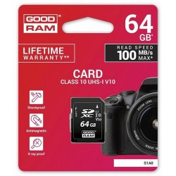 Scheda SD 64GB SDXC Goodram - blister retail