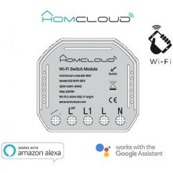 Modulo Interruttore Intelligente Wi-Fi da incasso