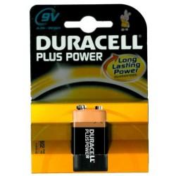Batteria Duracell PLUS MN1604 transistor 1x9v blister