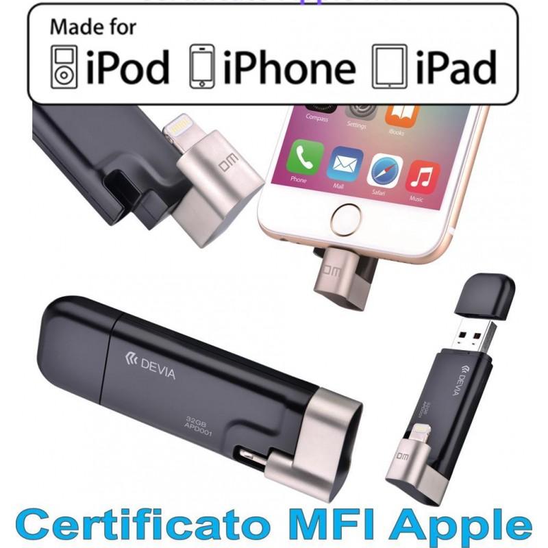 Chiavetta per iPhone 32 GB iBox-drive Certificata MFI Apple