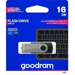 Pendrive GoodRAM 16GB UTS3 BLACK USB 3.0 - retail blister