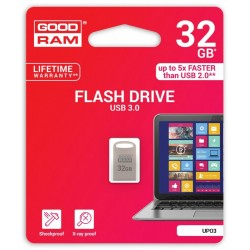 Pendrive metal GOODRAM POINT UPO3 32GB USB 3.0 - blister