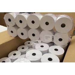 10x Rotolo per CALCOLATRICE pura cellulosa mm 57 x 30 mtl