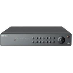 Dvr 8 Canali AHD 1080P, Hybrid, 2 Slot SATA a 8TB, ventola