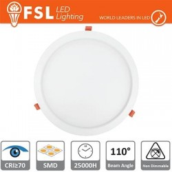 Downlight LED IP20 12W 4000K 850LM 110° FORO:160mm