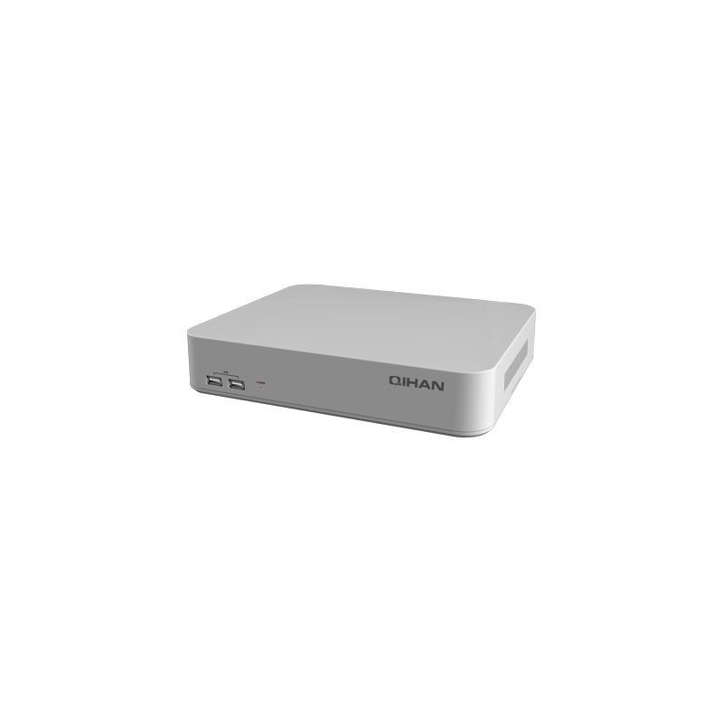 4 Canali NVR, 2.0 Megapizel,1 Slot Sata 4TB,Hdmi e Vga