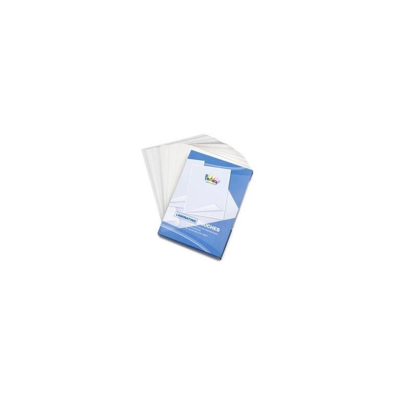 POUCHES A3 CRYSTAL 80 MICRON (conf.100 pcs)