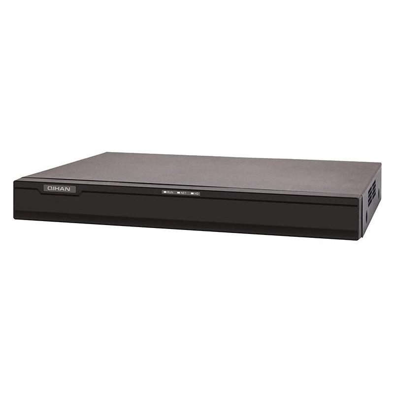 4 Canali NVR, 6.0 Megapixels, 4 Uscite PoE, 1 uscita RJ45