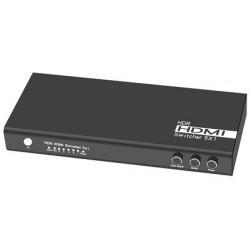 Switch 5x1 HDMI 2.0 18G 4k@60hz HDR, funzione AUTO ON/OFF