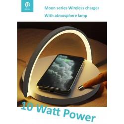 Caricatore Wireless 10W con Luce Regolabile Modello EL104