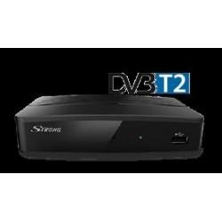 Decoder Ricevitore Terrestre HD DVB-T2 10 Bit Timeshift USB