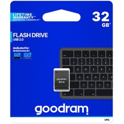 Pendrive Goodram UPI2 32GB USB MINI 2.0 blk - retail blister