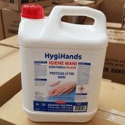 Soluzione GEL igienizzante 5kg Hygihands alcool  70%