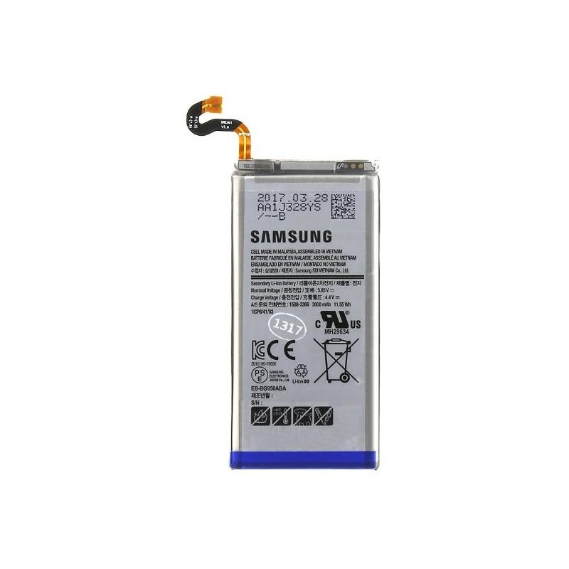Batteria per Samsung S8 EB-BG950ABE 3600mah Bulk