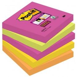Foglietti Post-it® Super Sticky Cape Town 76x76 mm - 5 pz.