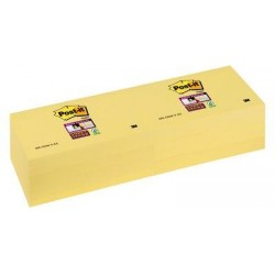 Post-it® Super Sticky Notes Giallo Canary ™ 76x127 mm - 12pz