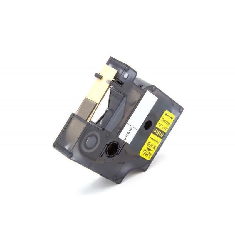 Yellow 19mmX5.5M Com Dymo Rhino 4200,5200,5000,6000S0718470