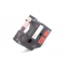 Red 12mmX5.5M Com Dymo Rhino 4200,5200,5000,6000S0718450