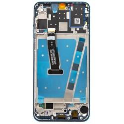 Lcd per Huawei P30 Lite per 48 Mpx LCD con Frame Blu